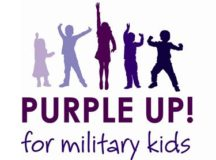 Get your purple on to recognize military children April 15