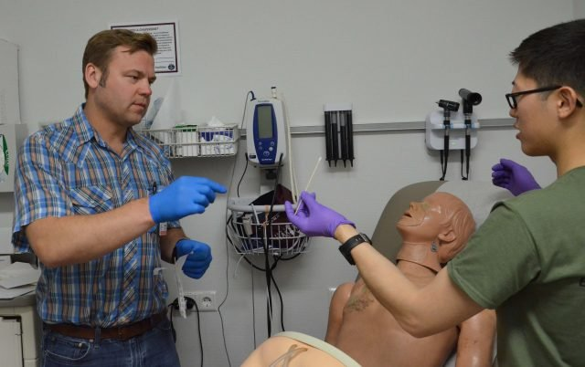 Clinic hones sexual assault exam skills during training