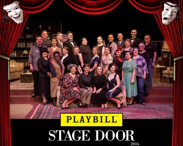 Page3_Topper Stage Door Cast photo