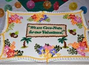 cake volunteers