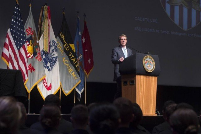 Force of Future requires best talent in America, Carter tells students