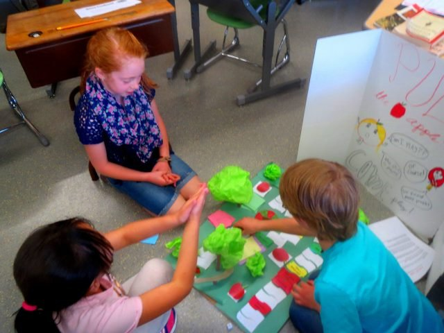 Third graders design and test board game strategy
