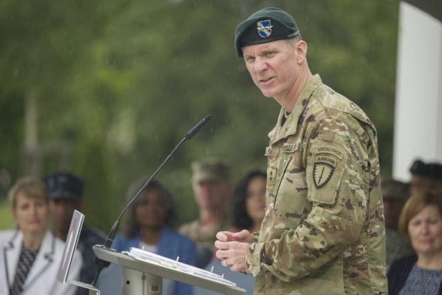 Special Operations Command Europe changes leadership