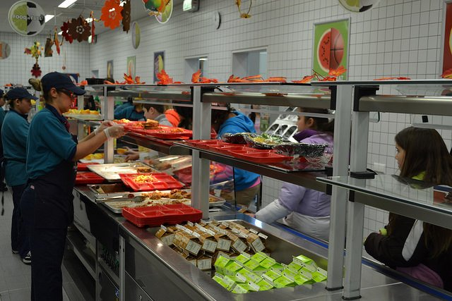 Price of school lunches to increase overseas