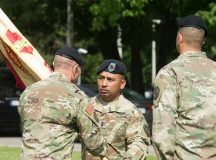 Stuttgart garrison welcomes new CSM