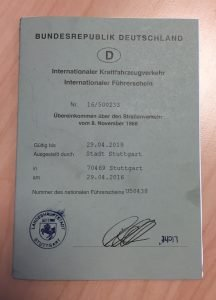 international driver license 2016
