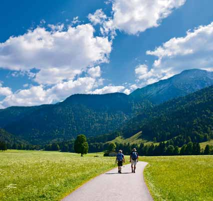 Sustainable tourism in the Alpine region of Germany