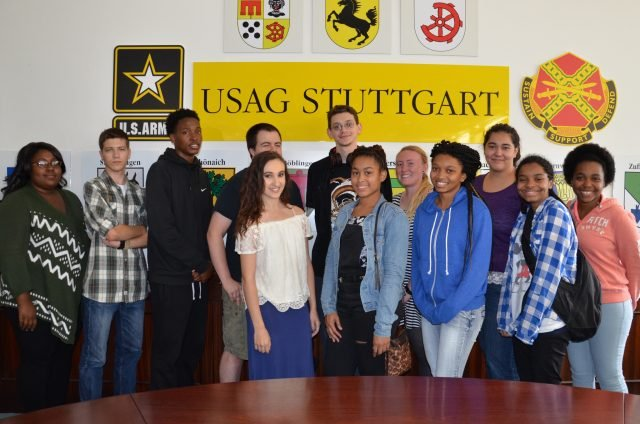 USAG Stuttgart's 2016 Summer Hire Program concludes