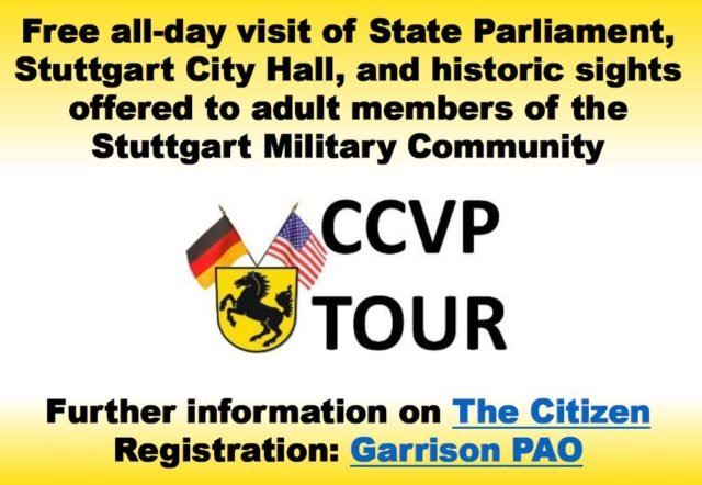 Welcome to Stuttgart: Experience Swabian politics through the CCVP