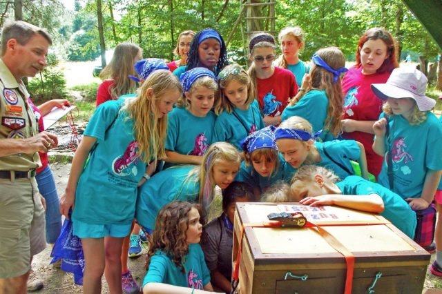 Stuttgart Girl Scouts experience magic at summer camp
