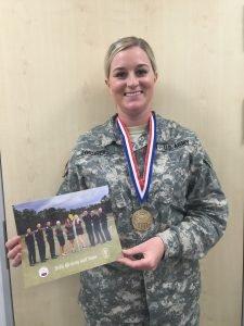 Army golfer, Spc.