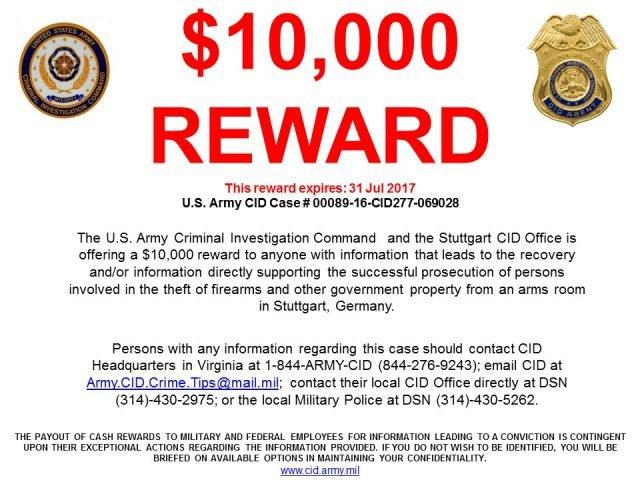 $10,000 REWARD - StuttgartCitizen com