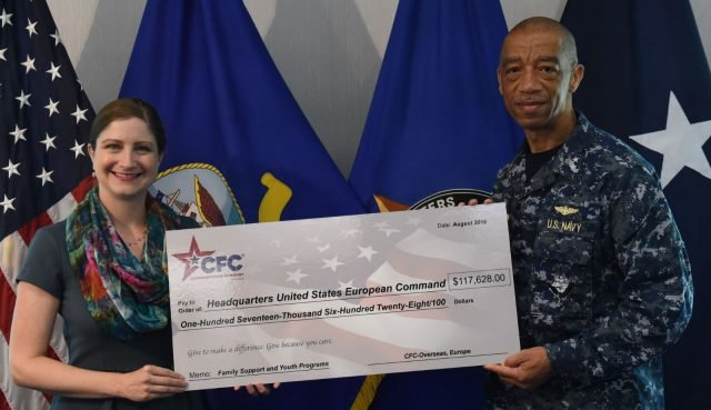 CFC-O campaign funds EUCOM Family Support and Youth Programs