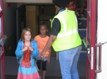 Patch Elementary School kindergartners experience bus adventure