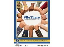 'Be There' suicide prevention theme resonates with troop values