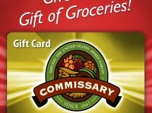 Commissary gift cards available online