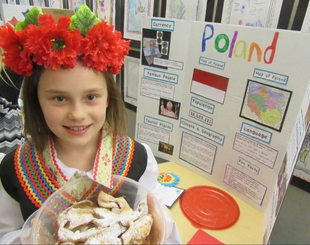 Students share cultures from around the globe