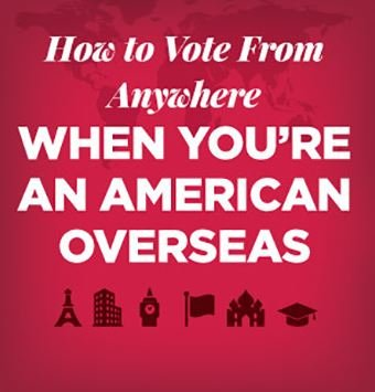 How to vote for US local elections overseas