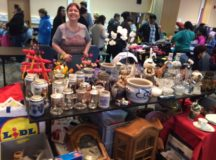 Treasures abound at the community flea markets. Photo by John Reese, USAG Stuttgart Public Affairs