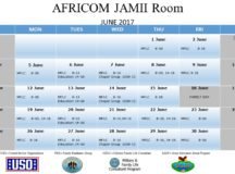 JAMII ROOM: Kelly Barracks Community Room Schedule – Closure Update