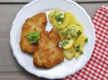 Schnitzel and potatoes, now being served at a restaurant near you. Courtesy photo