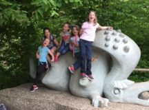 RBES 2nd grade visits Ludwigsburg Place Fairy Tale Garden
