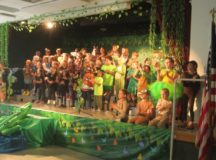 RBES Drama Club performs life in the swamp
