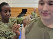 Active duty personnel to receive initial flu vaccine **UPDATED**
