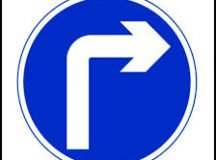 RBES parking lot right turn only to exit