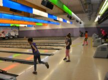 Community members score good health on bowling lanes