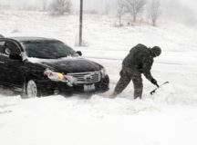Time to switch out the tires for winter. Photo by Staff Sgt. Kassidy Snyder, 139th Mobile Public Affairs Detachment