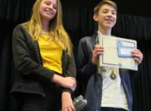 Patch Middle School student wins local school National Geographic Bee