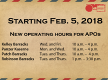 US Post Offices reduce number of operating days per week