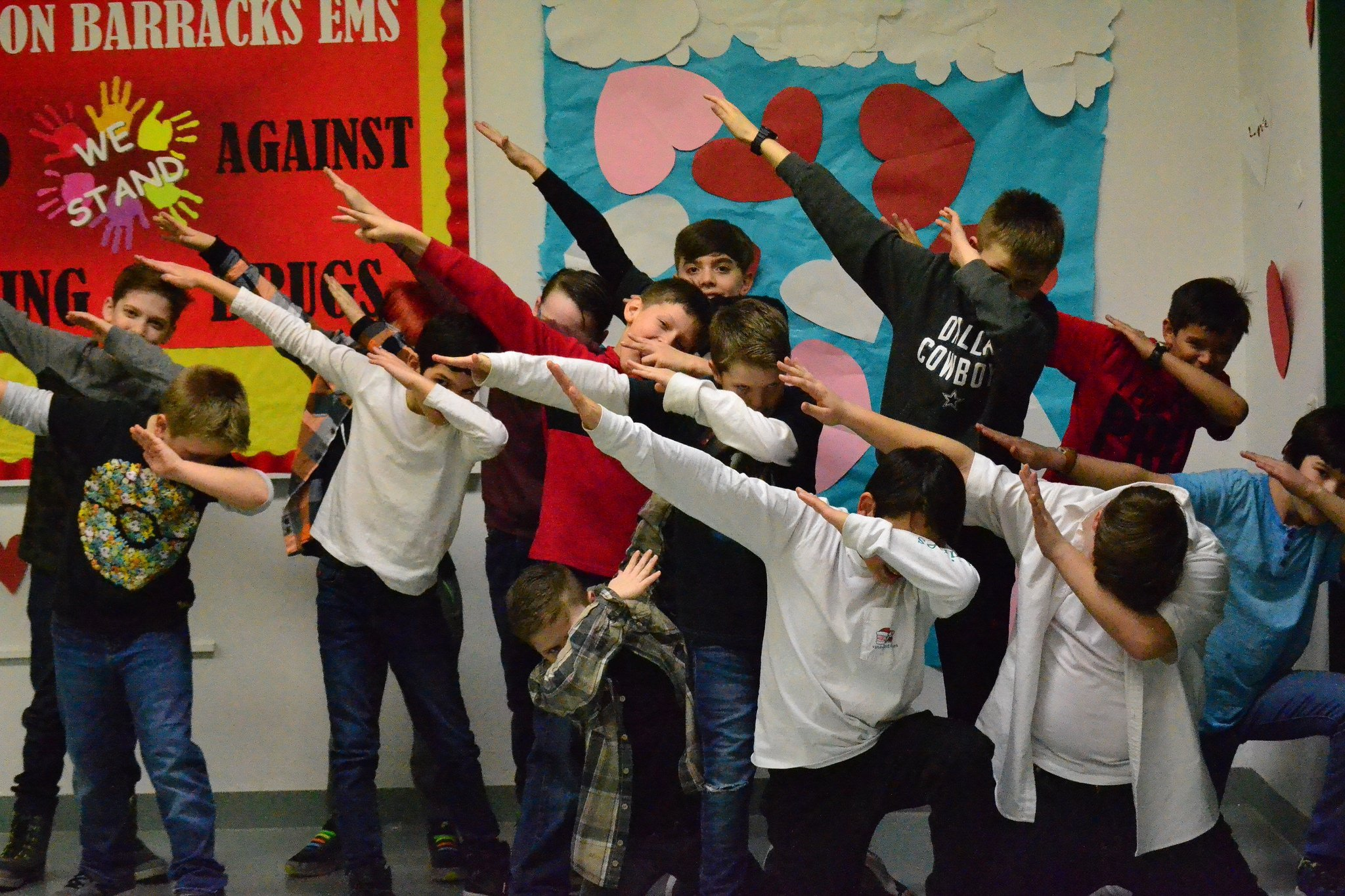 rbes grade 3-5 valentine dance