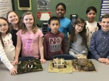 PES students replicate Native American homes