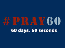 Sign up for weekly encouragement, 60 seconds, 60 days