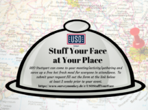 USO Stuttgart provides free meals to unit events on request