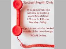 Health Clinic Appointment Line Hours Change