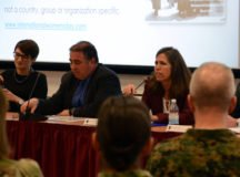 AFRICOM International Women's Day panel discuses diversity in the US military