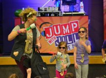 RBES 'Jumps with Jill', showcases talent, calls 'Bingo!' in April