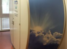 This new lactation pod is located in Bldg. 2304, Patch Barracks. Photo provided by Jennifer Smartt, DIA