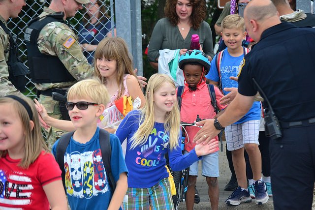 Garrison law enforcement wishes RBES students a safe, happy summer