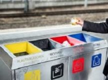 Recycling in Germany, on and off post