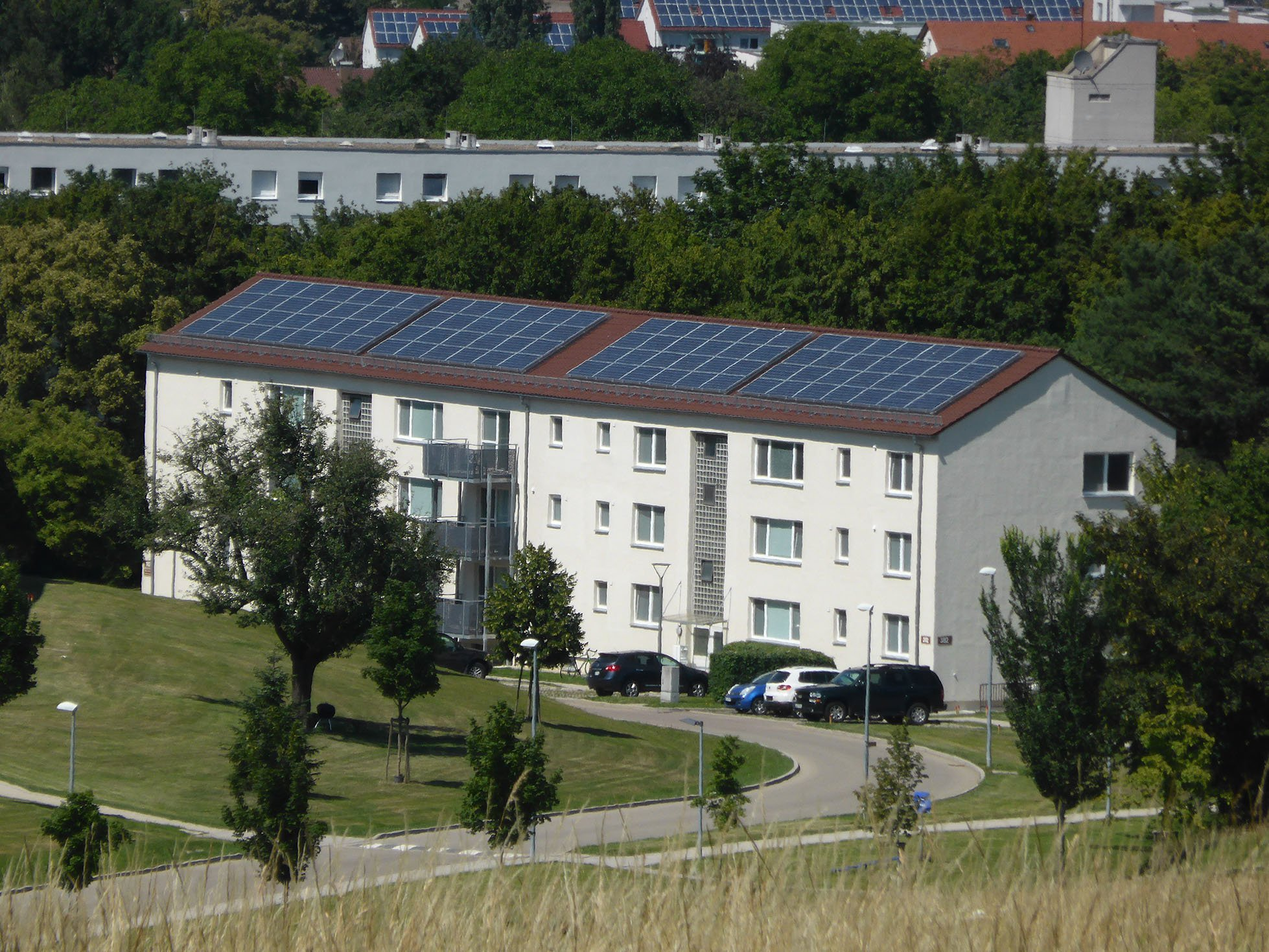 Construction Of Solar Panels For Electricity Generation Is