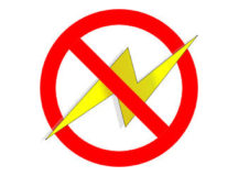 DPW advises of RB of select temporary power outages