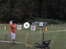 Archery was one of the activities offered at Camp Carney.