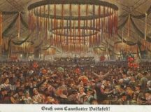 Special historic Volksfest at Schlossplatz, Sept. 26–Oct. 3