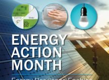 Energy Action Month: Stop waste and use energy wisely