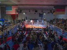 Stuttgart smokes competition during Oktoberfest Boxing Championship