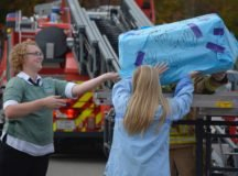 Stuttgart High and Elementary School Pumpkin Drop